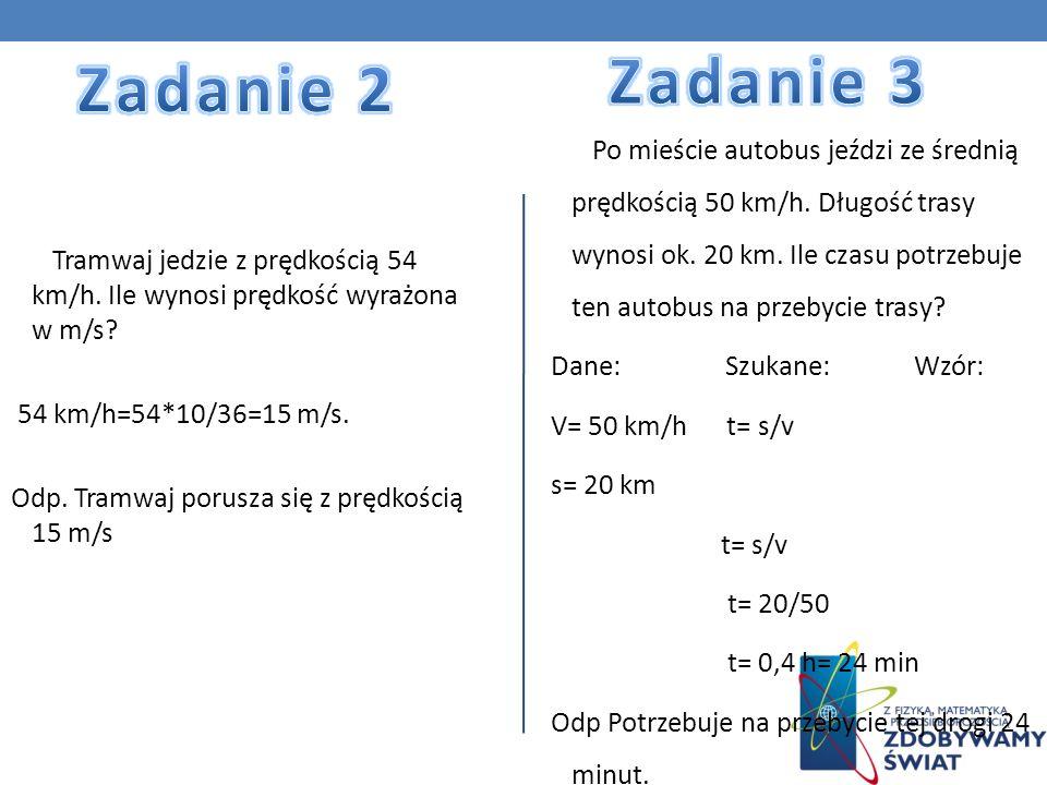Zadanie 3 Zadanie 2.