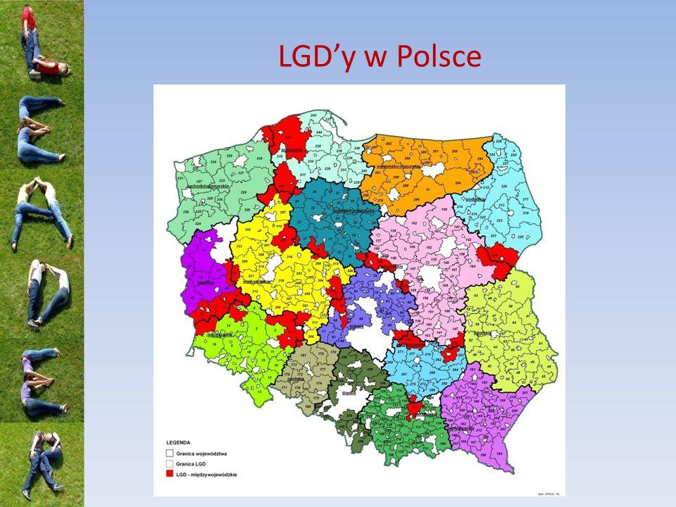 LGD'y w Polsce