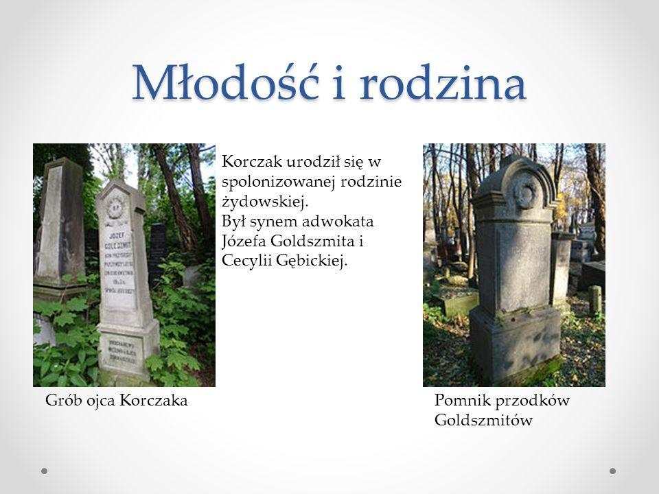 Młodość i rodzina Korczak urodził się w spolonizowanej rodzinie żydowskiej. Był synem adwokata Józefa Goldszmita i Cecylii Gębickiej.