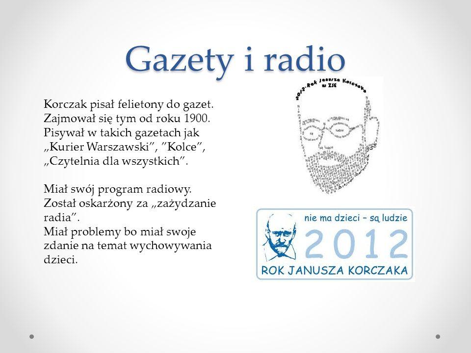 Gazety i radio