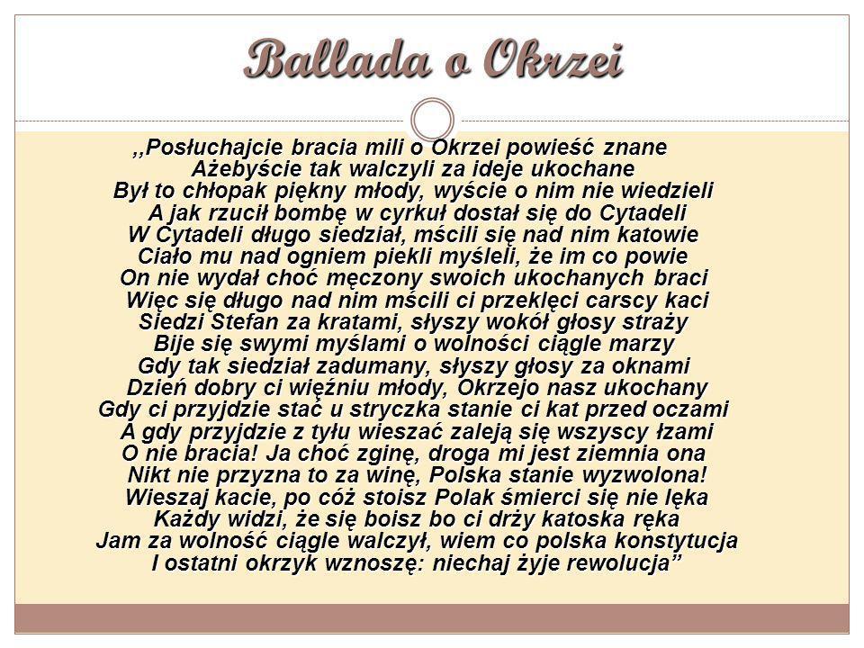 Ballada o Okrzei