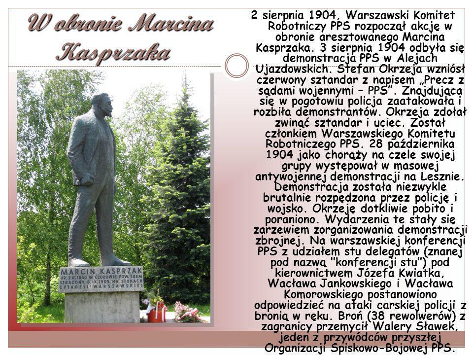 W obronie Marcina Kasprzaka