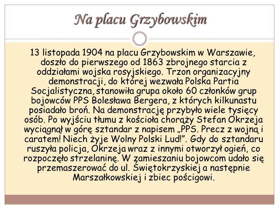 Na placu Grzybowskim
