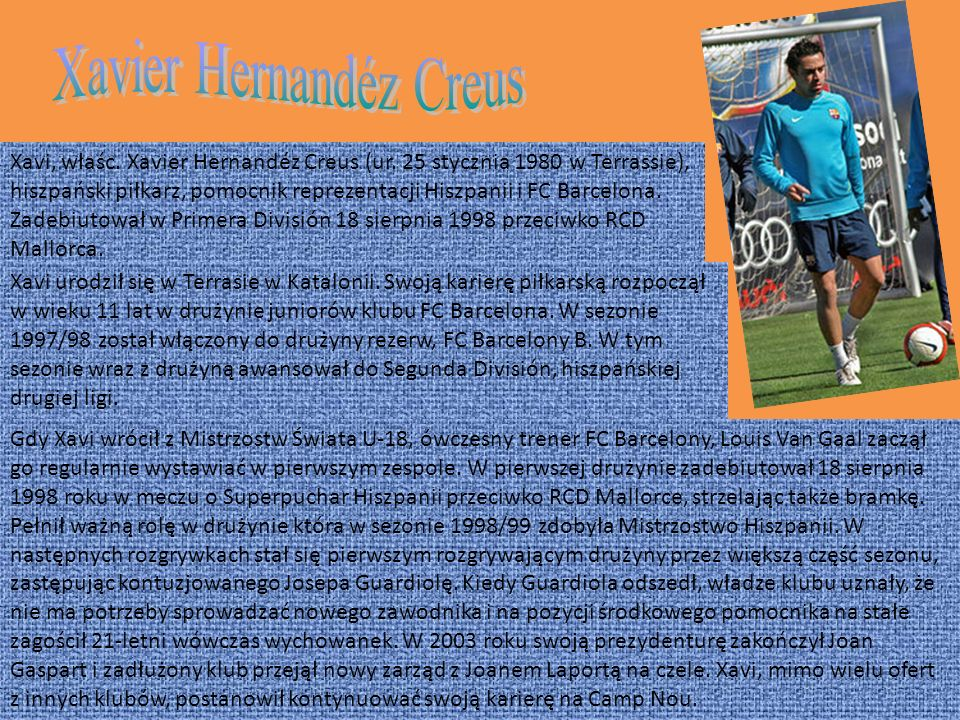 Xavier Hernandéz Creus