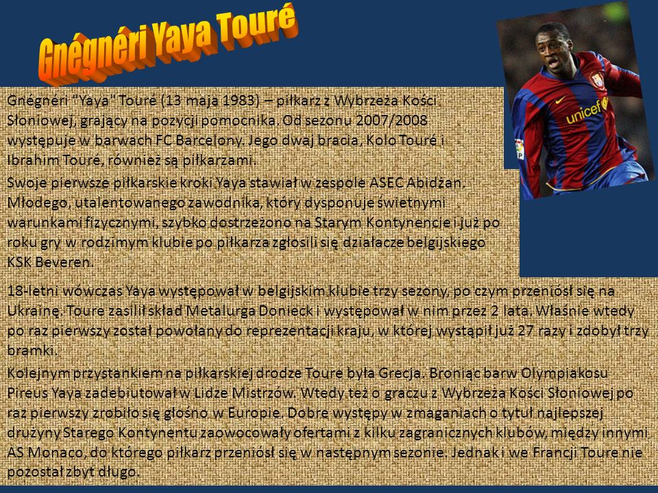 Gnégnéri Yaya Touré