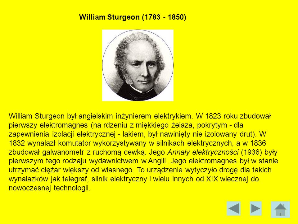 William Sturgeon (1783 - 1850)