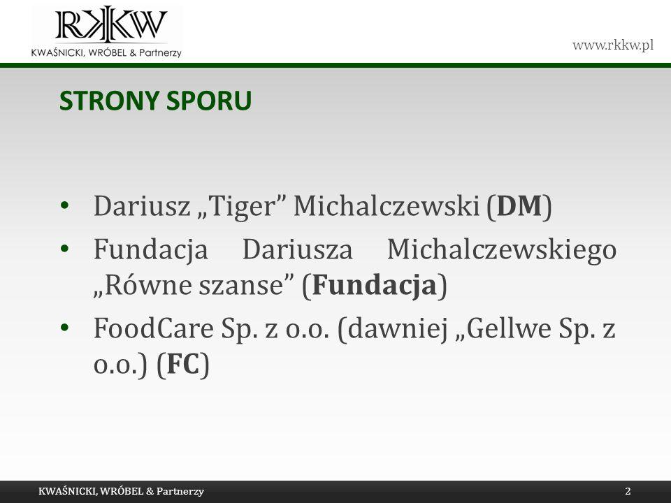 "Dariusz ""Tiger Michalczewski (DM)"