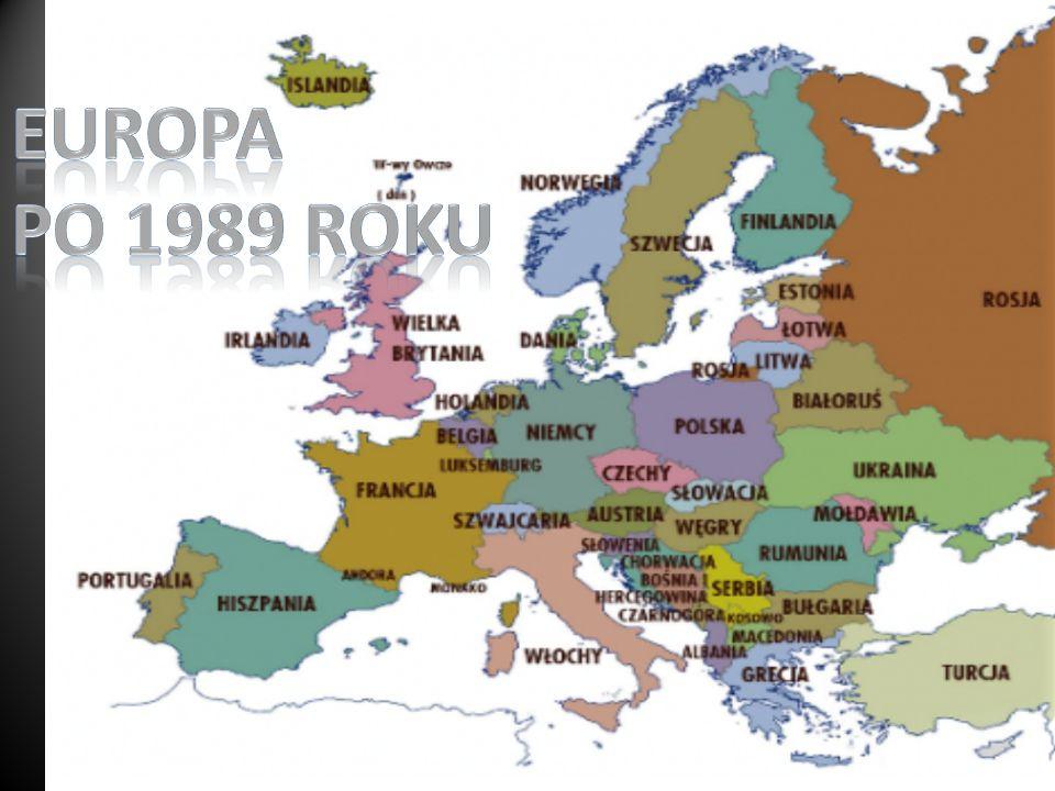 Europa po 1989 roku