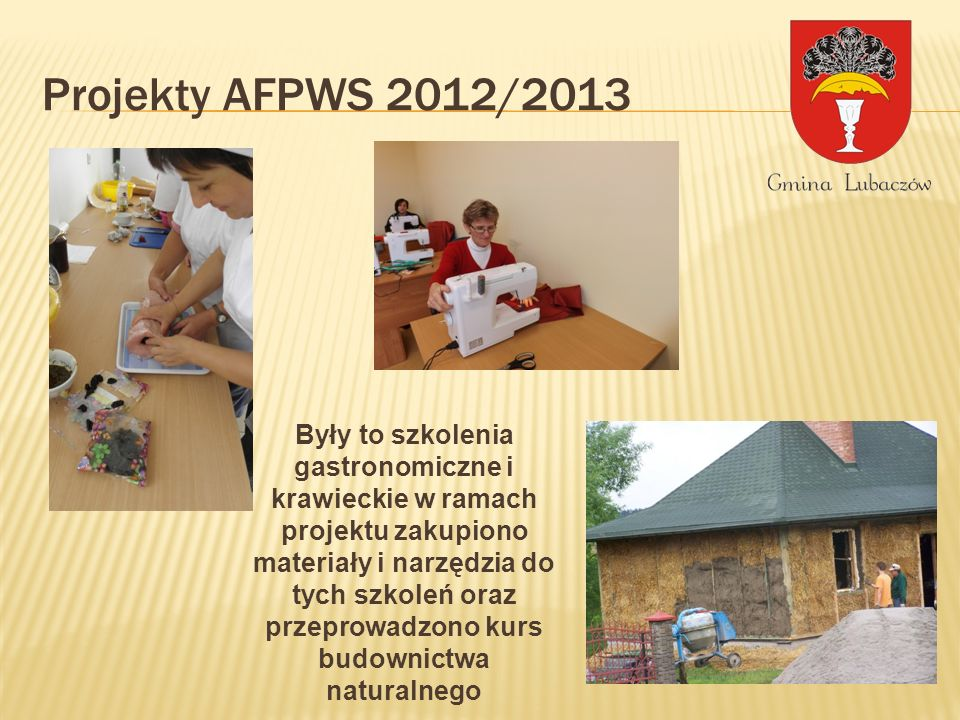 Projekty AFPWS 2012/2013
