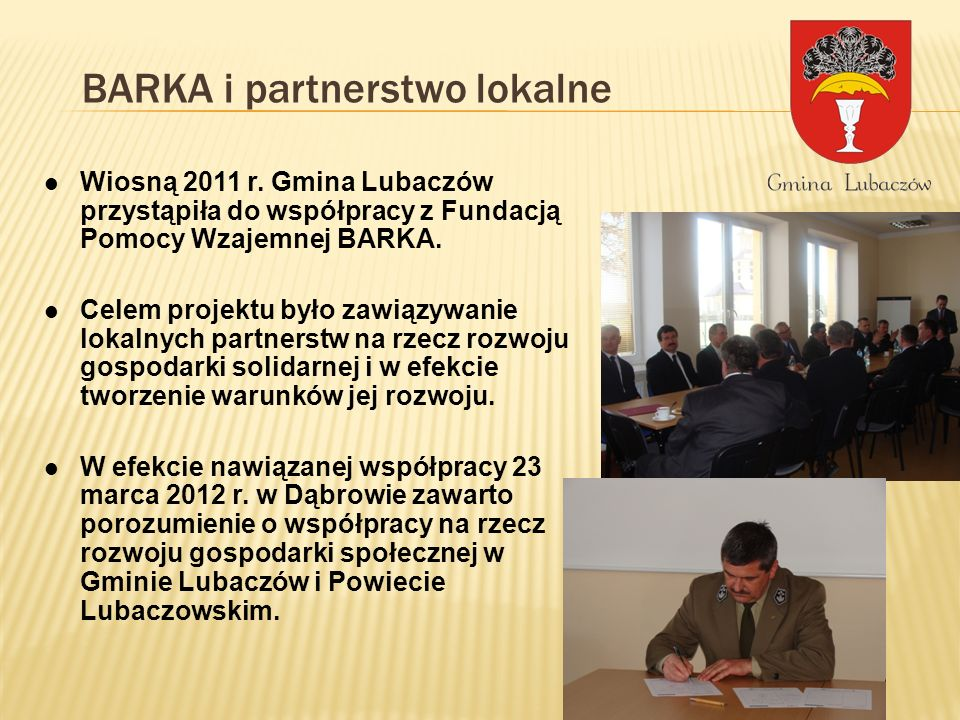 BARKA i partnerstwo lokalne