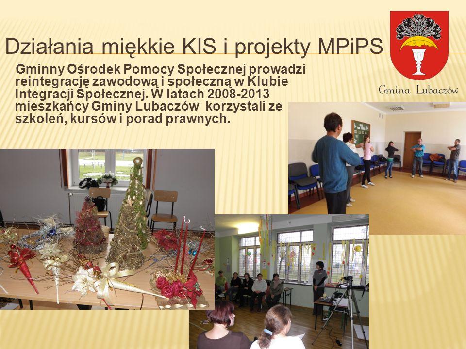 Działania miękkie KIS i projekty MPiPS