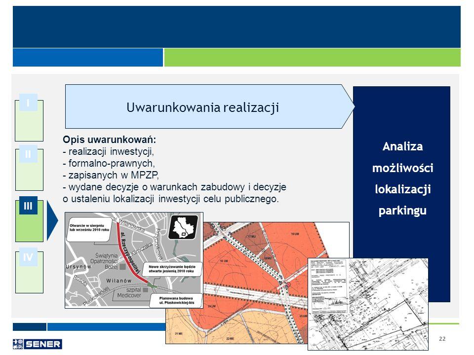 Analiza możliwości lokalizacji parkingu