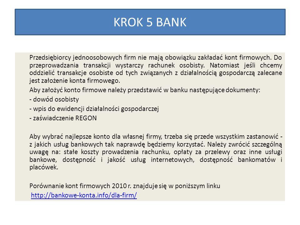 KROK 5 BANK
