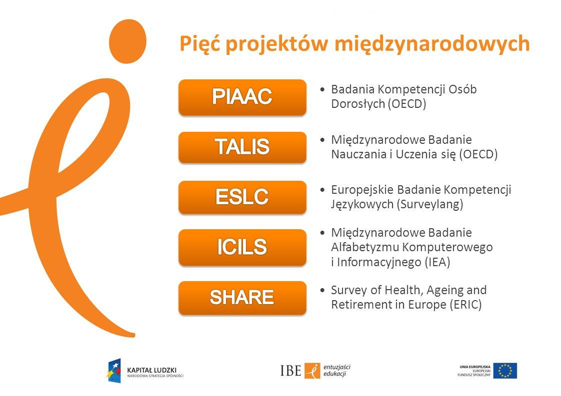 Pięć projektów międzynarodowych