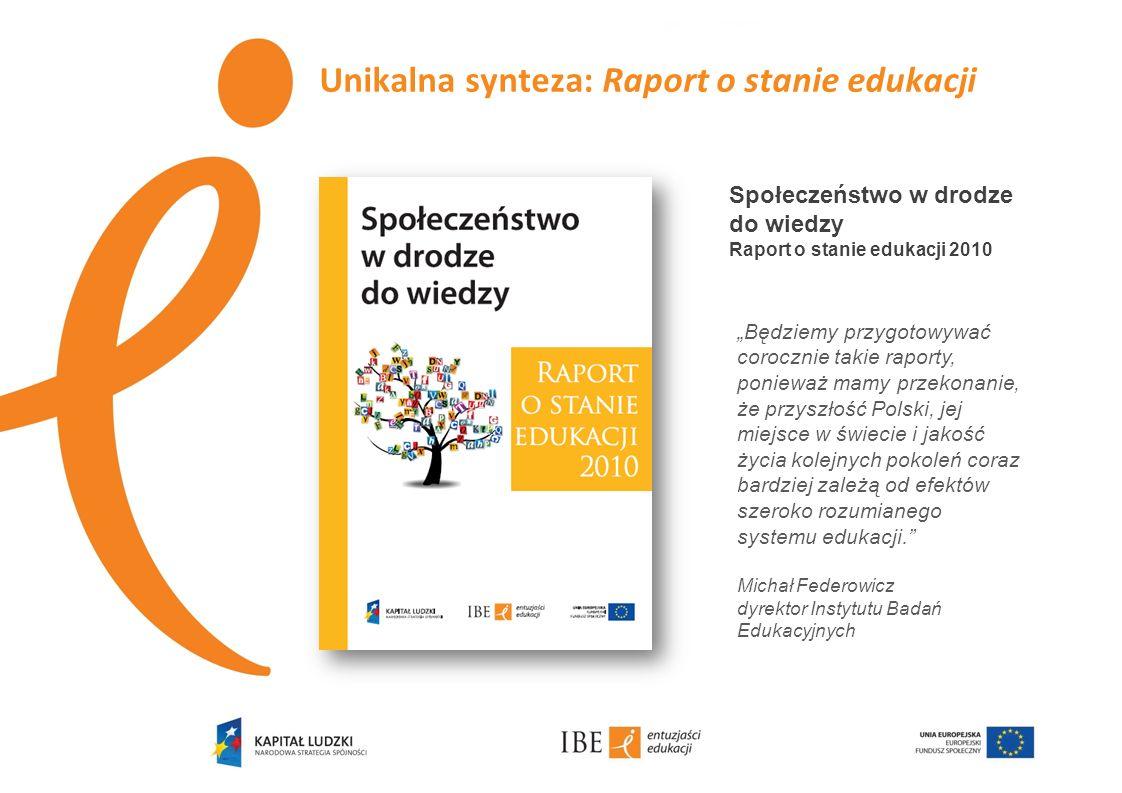 Unikalna synteza: Raport o stanie edukacji