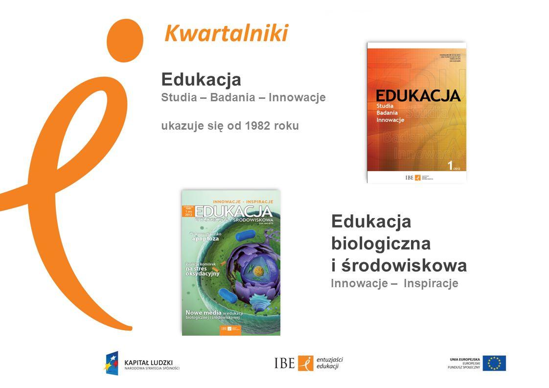 Kwartalniki Edukacja Edukacja biologiczna i środowiskowa
