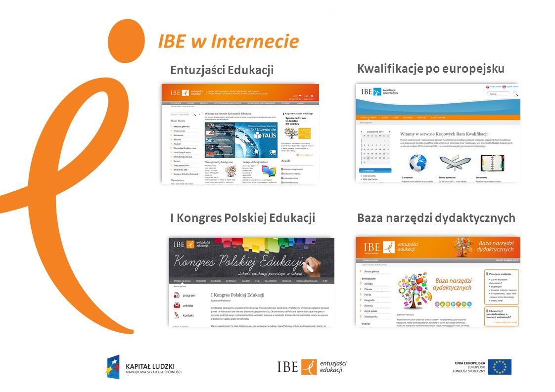 IBE w Internecie Entuzjaści Edukacji Kwalifikacje po europejsku