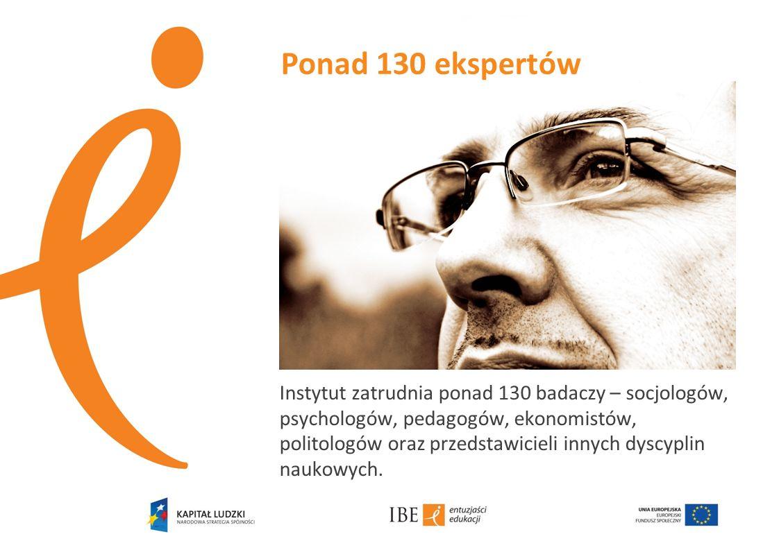 Ponad 130 ekspertów