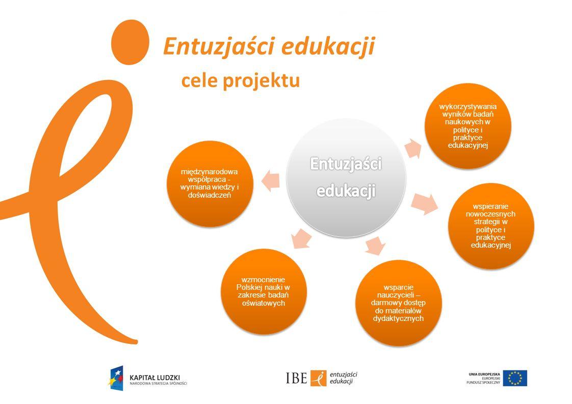 Entuzjaści edukacji cele projektu