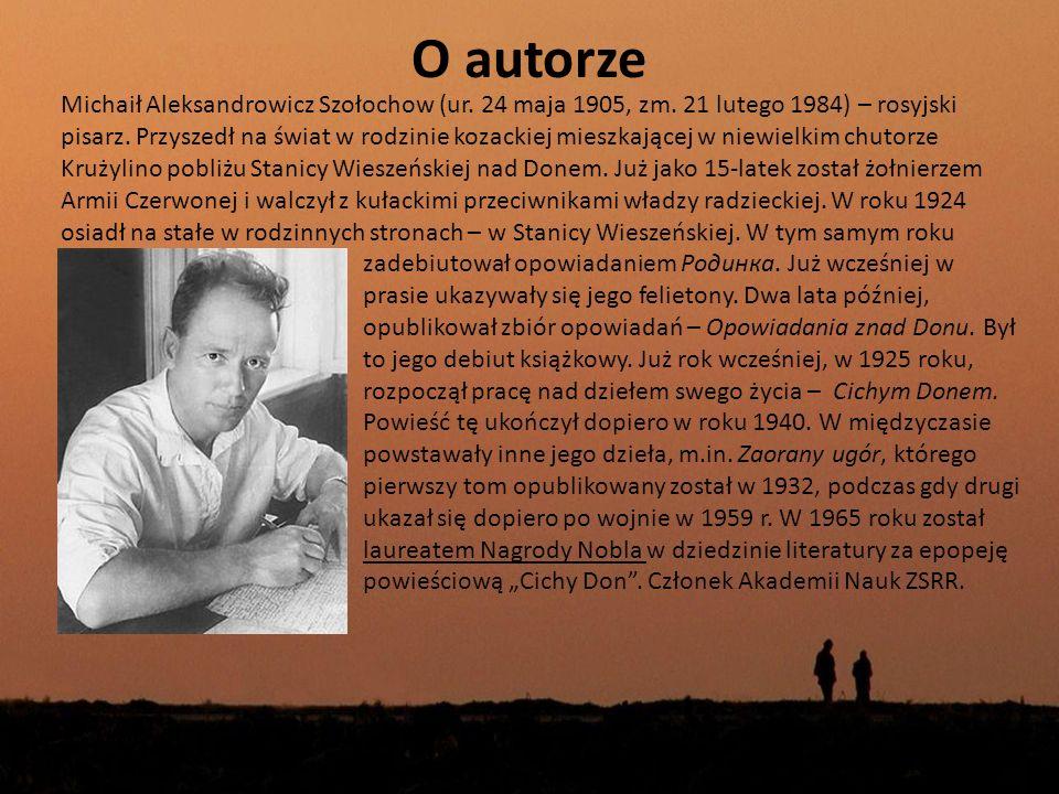 O autorze
