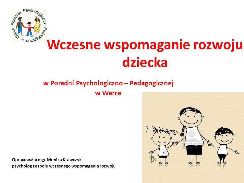 Wczesne wspomaganie rozwoju dziecka