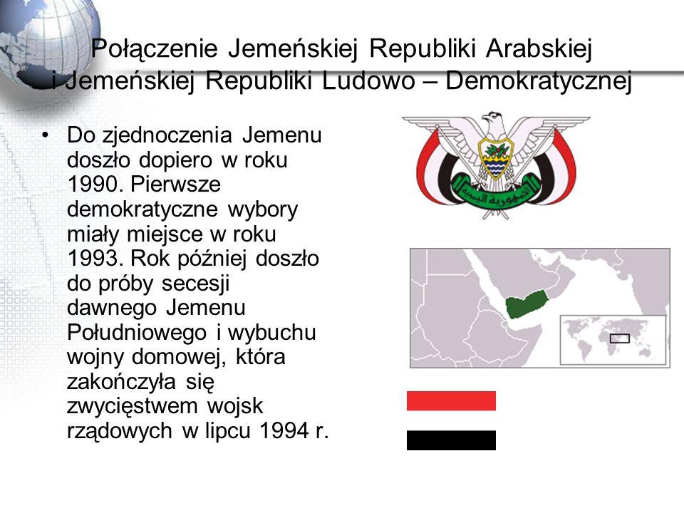 Połączenie Jemeńskiej Republiki Arabskiej i Jemeńskiej Republiki Ludowo – Demokratycznej