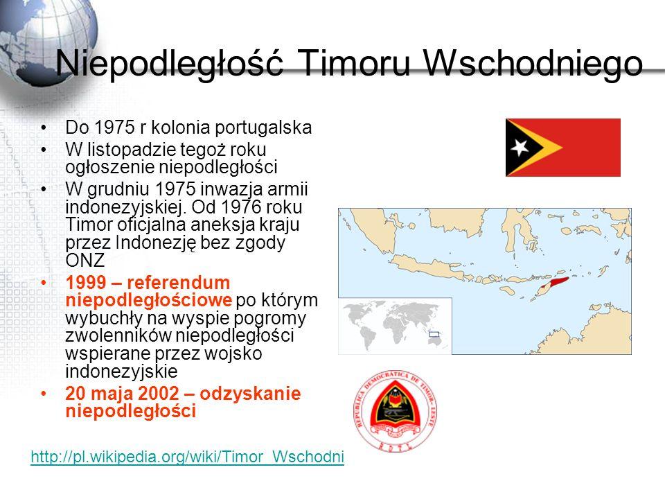 Niepodległość Timoru Wschodniego