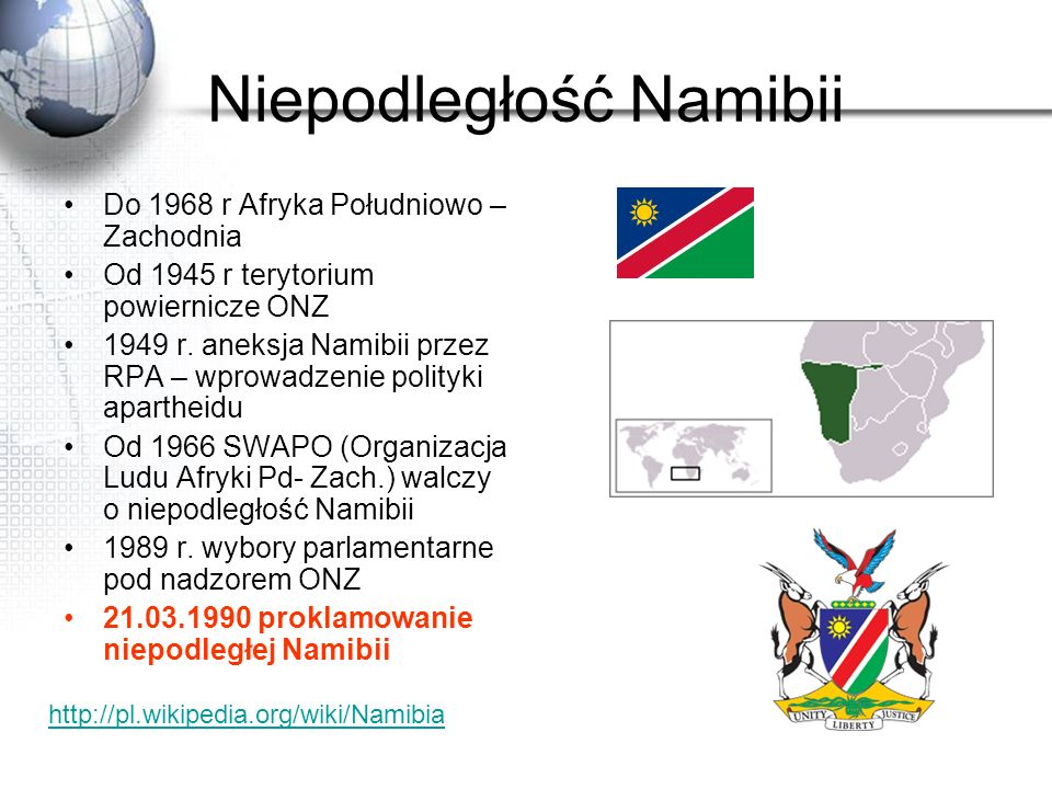 Niepodległość Namibii