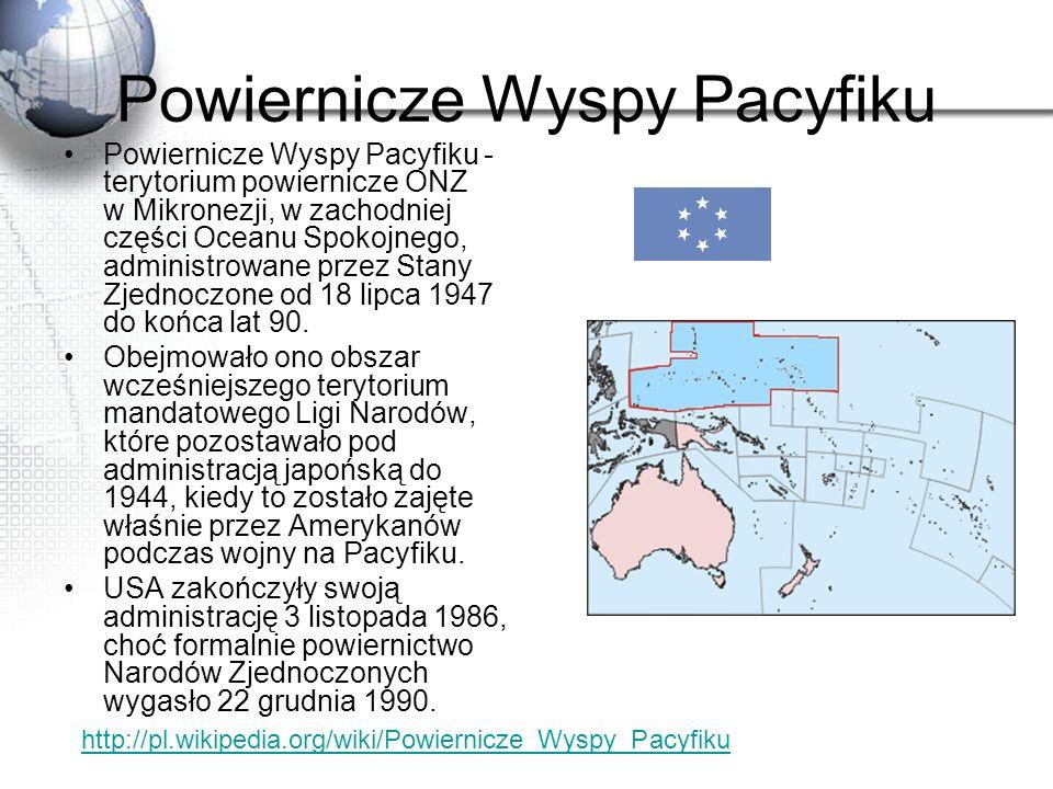 Powiernicze Wyspy Pacyfiku