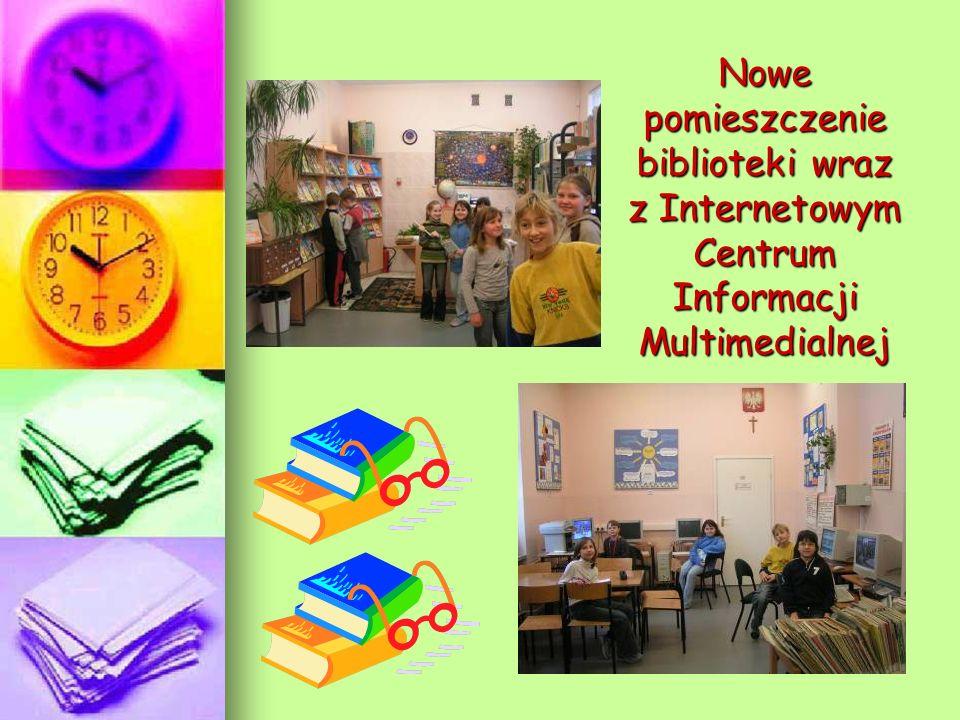 Nowe pomieszczenie biblioteki wraz z Internetowym Centrum Informacji Multimedialnej