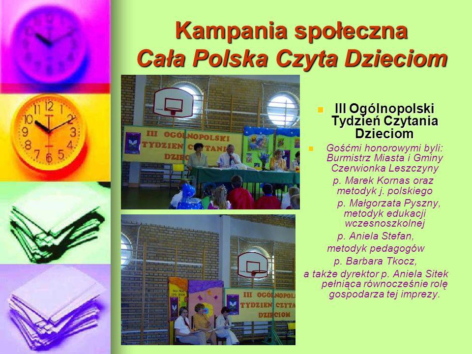Kampania społeczna Cała Polska Czyta Dzieciom