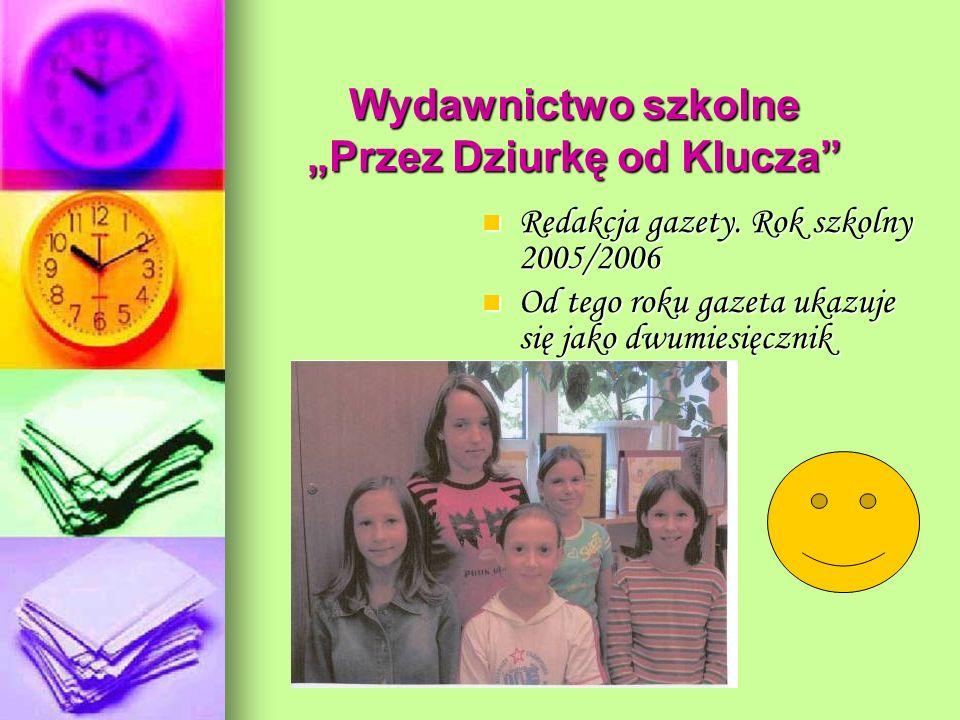 """Wydawnictwo szkolne """"Przez Dziurkę od Klucza"""