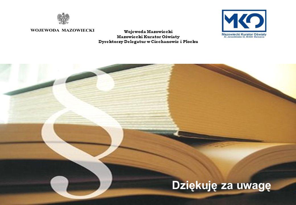 Dyrektorzy Delegatur w Ciechanowie i Płocku