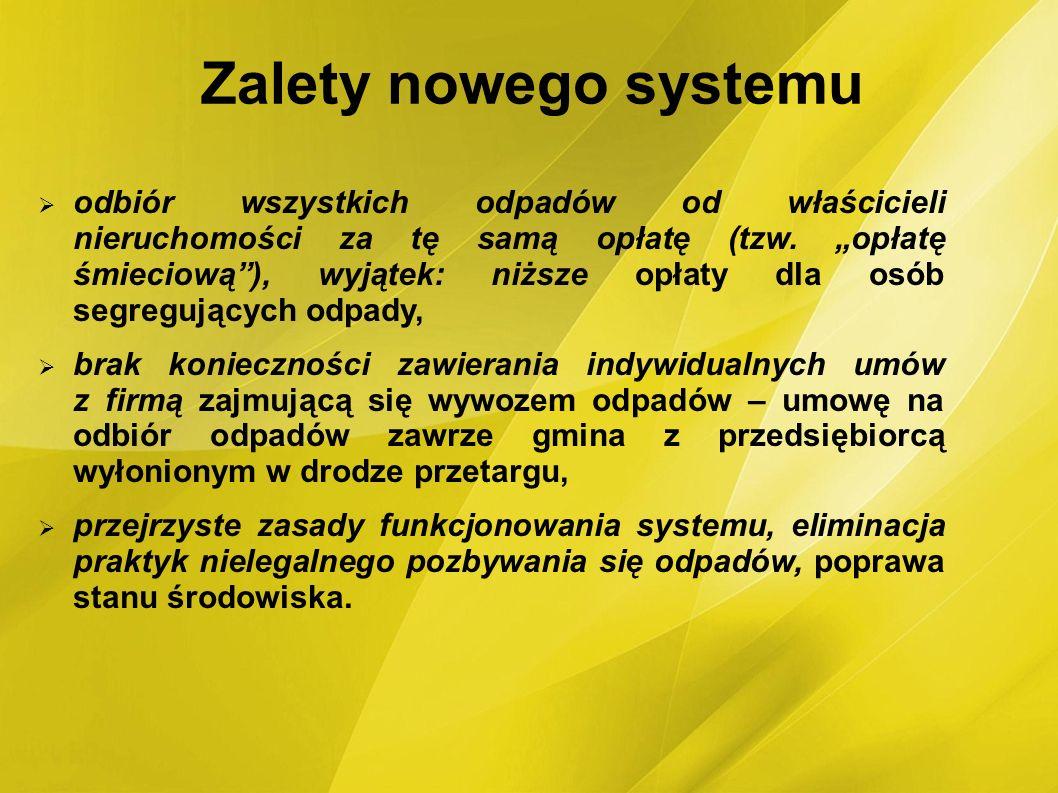 Zalety nowego systemu