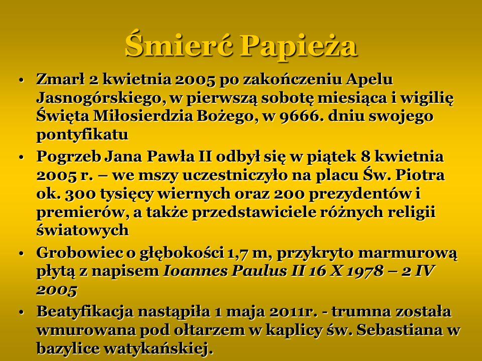 Śmierć Papieża