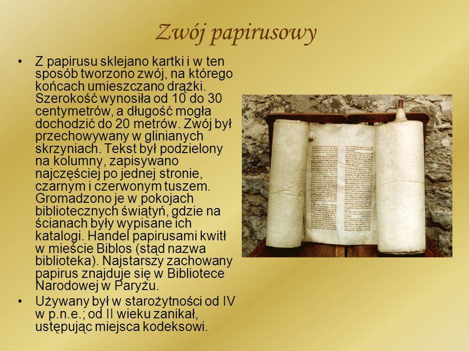 Zwój papirusowy
