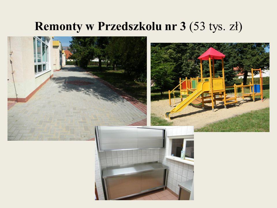 Remonty w Przedszkolu nr 3 (53 tys. zł)