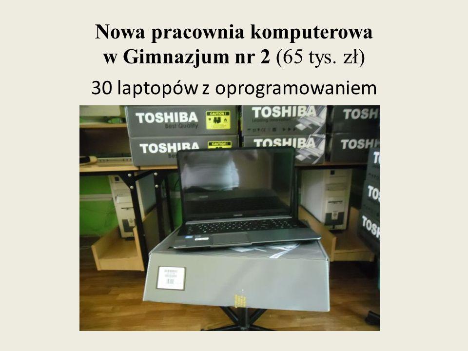 Nowa pracownia komputerowa w Gimnazjum nr 2 (65 tys. zł)