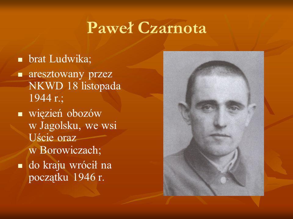 Paweł Czarnota brat Ludwika;
