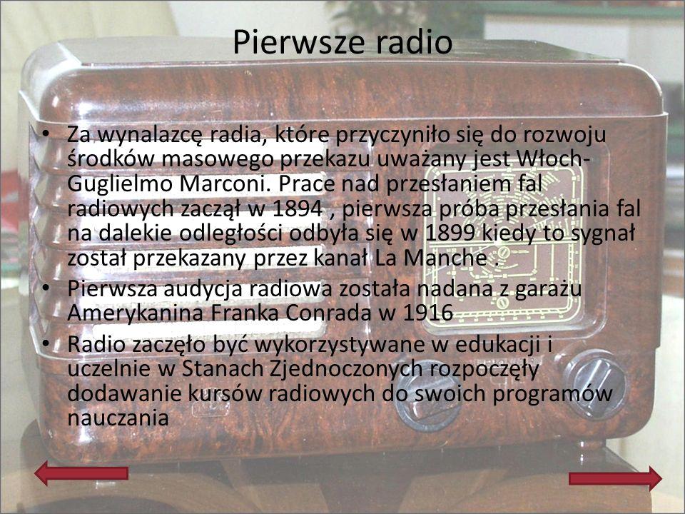 Pierwsze radio