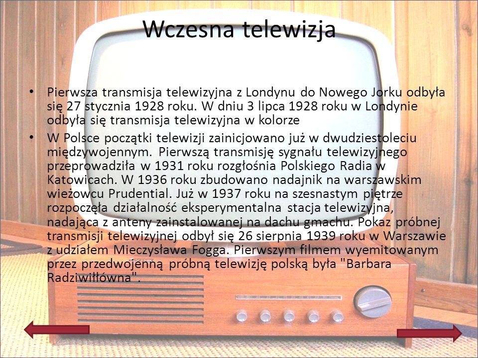 Wczesna telewizja