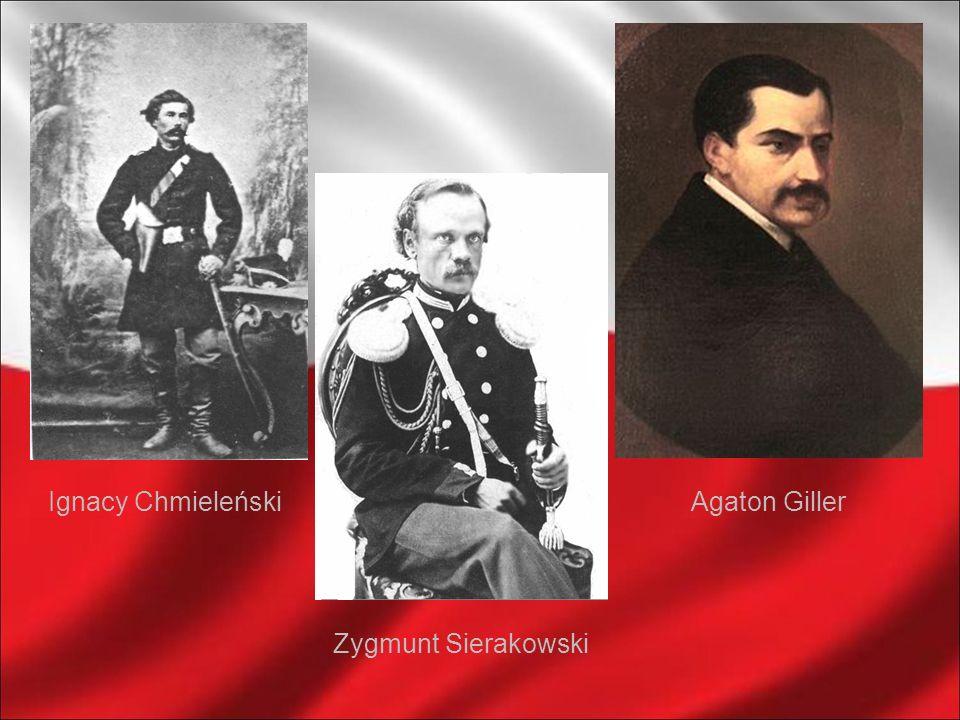 Ignacy Chmieleński Agaton Giller Zygmunt Sierakowski