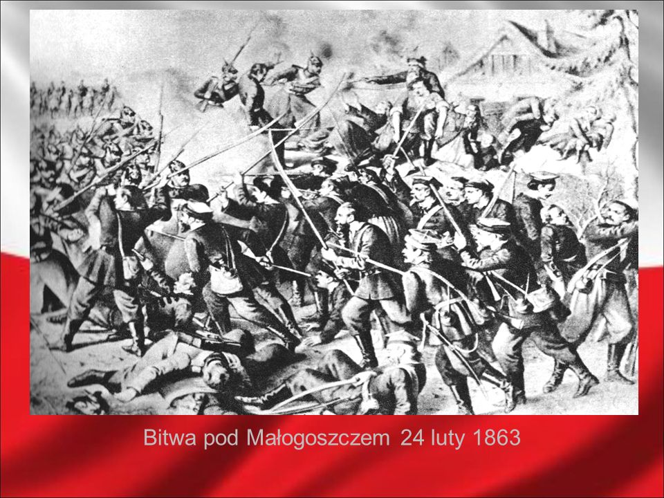 Bitwa pod Małogoszczem 24 luty 1863