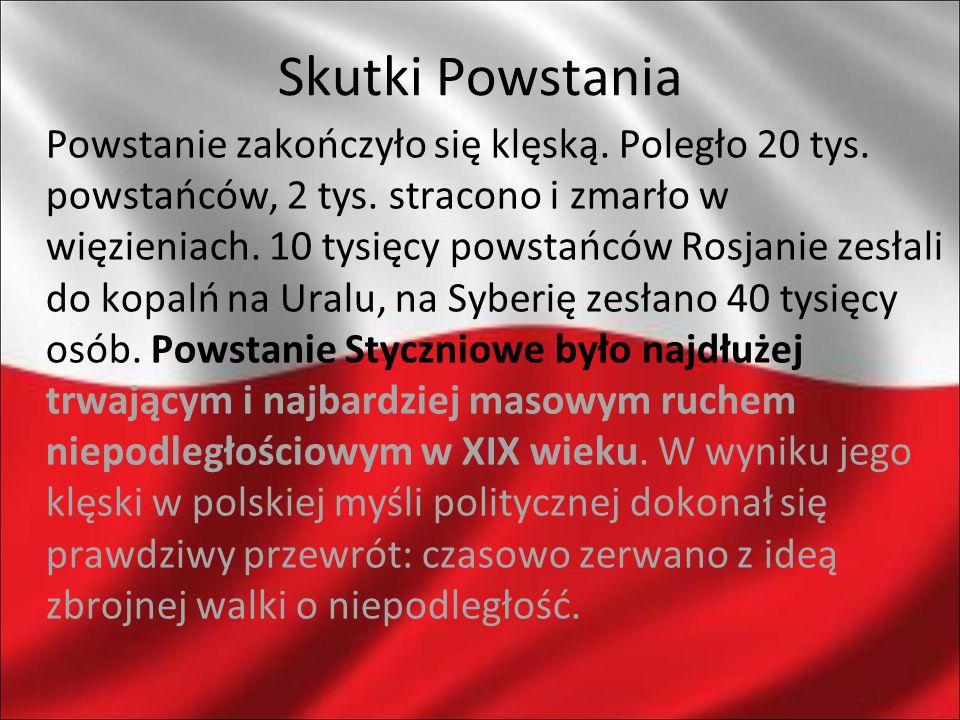 Skutki Powstania