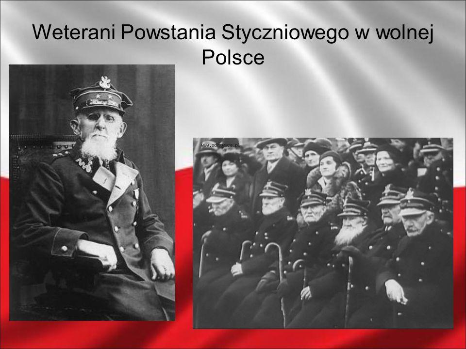 Weterani Powstania Styczniowego w wolnej Polsce