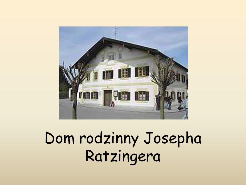 Dom rodzinny Josepha Ratzingera