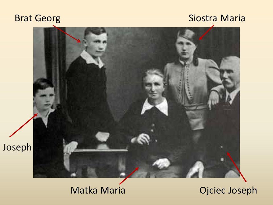 Brat Georg Siostra Maria Joseph Matka Maria Ojciec Joseph