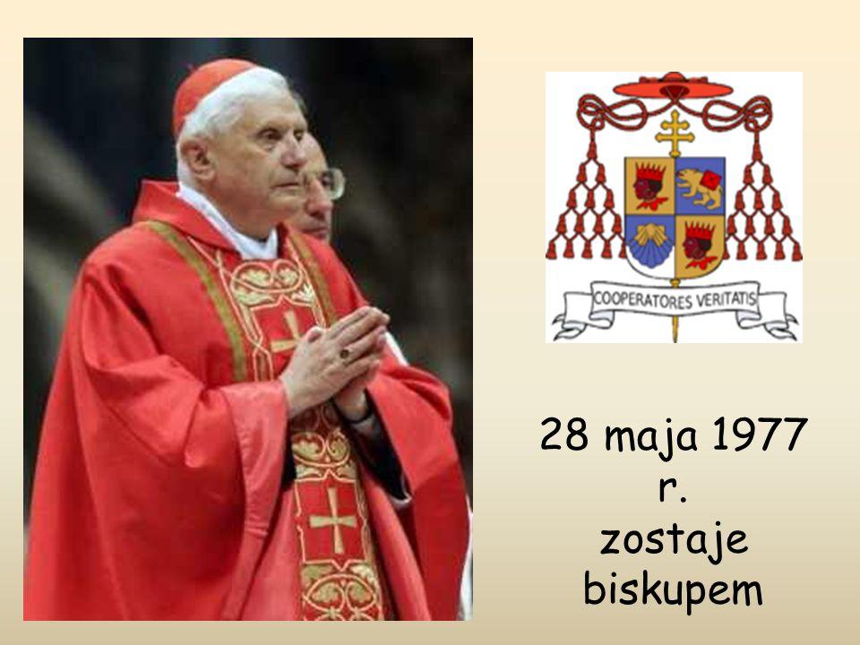 28 maja 1977 r. zostaje biskupem