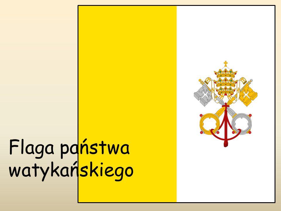 Flaga państwa watykańskiego