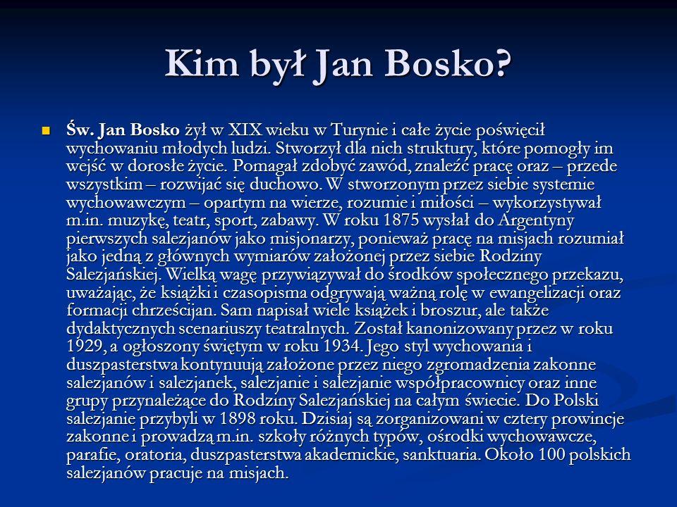 Kim był Jan Bosko